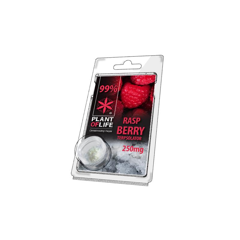 Buy Raspberry Terpsolator 99% CBD 250 mg