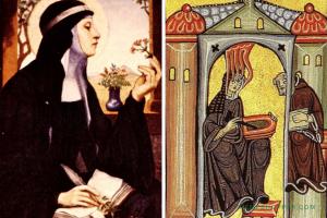 1098 – 1179: St.Hildegard Grows 'Cannabus' In Her Herbal Garden