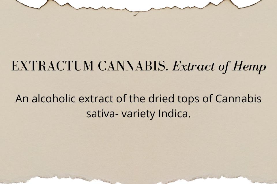1851: Marijuana is listed in the U.S. Pharmacopoeia