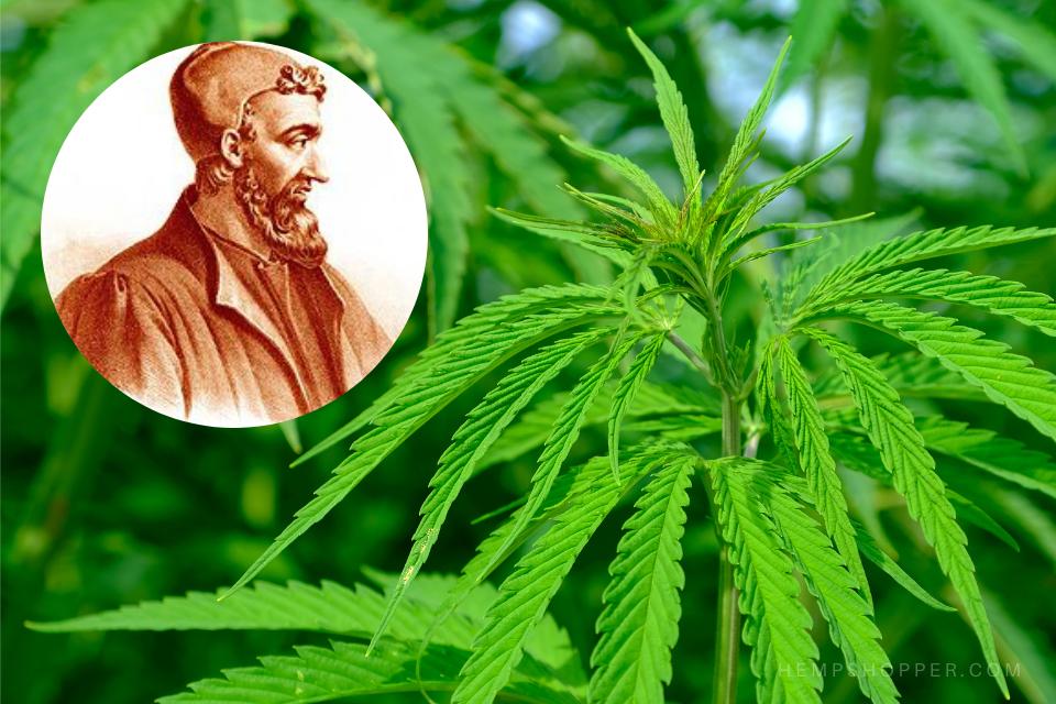 199 CE: Claudius Galen describes the hedonistic use of marijuana