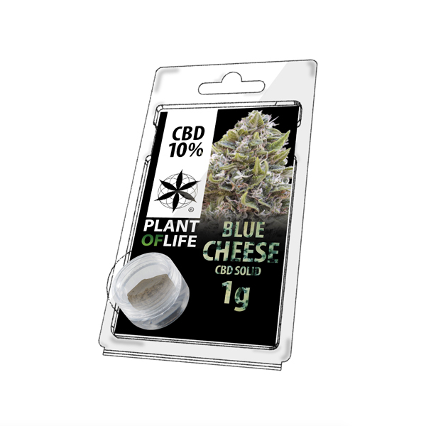 Buy Blue Cheese Solid 10% CBD 1g