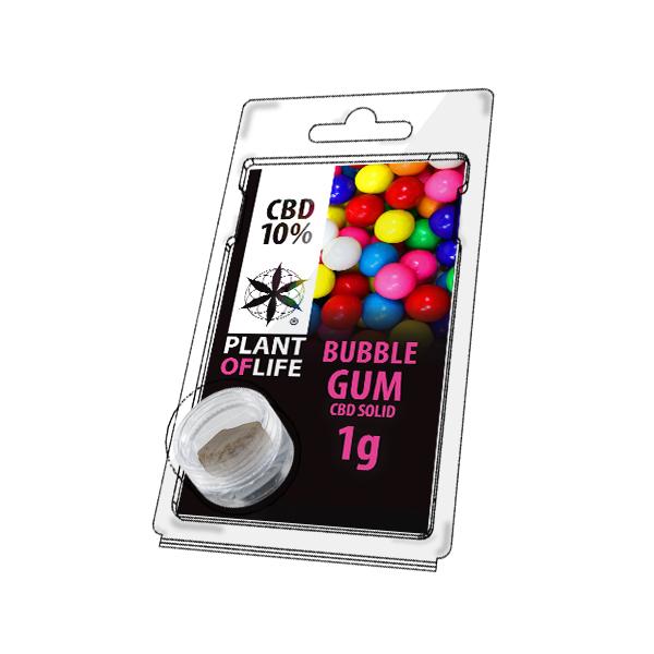 Buy Bubblegum Solid 10% CBD 1 g