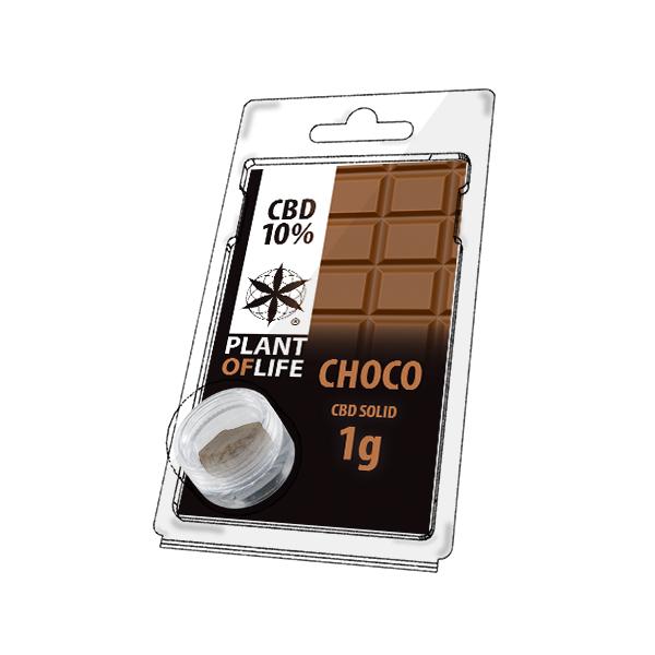 Buy Chocolate Solid 10% CBD 1 g