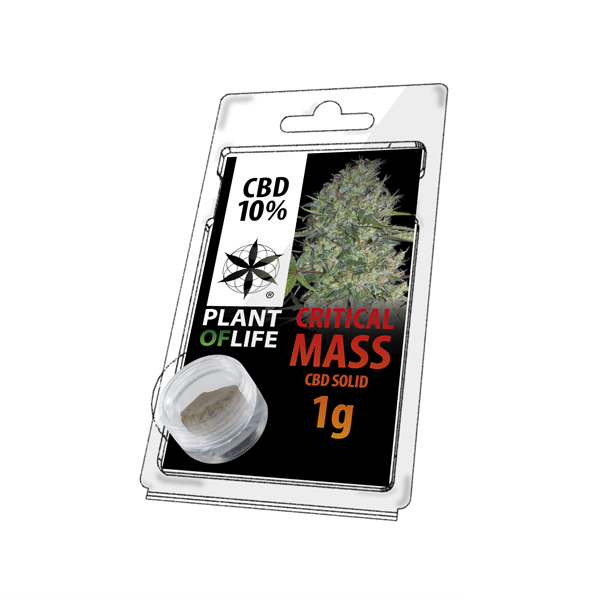 Buy Solid 10% CBD Critical Mass Extraction 1 g