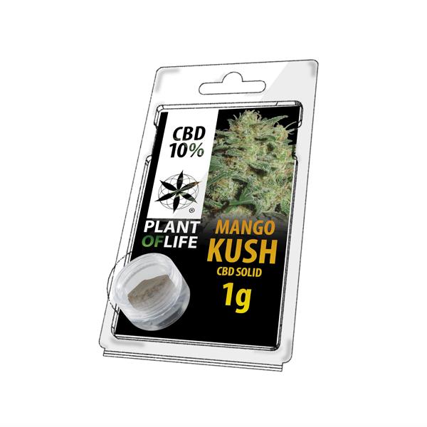 Buy Mango Kush Solid 10% CBD 1 g