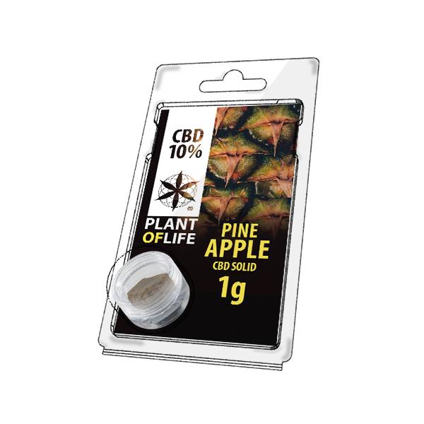 Buy Pineapple Solid 10% CBD 1 g