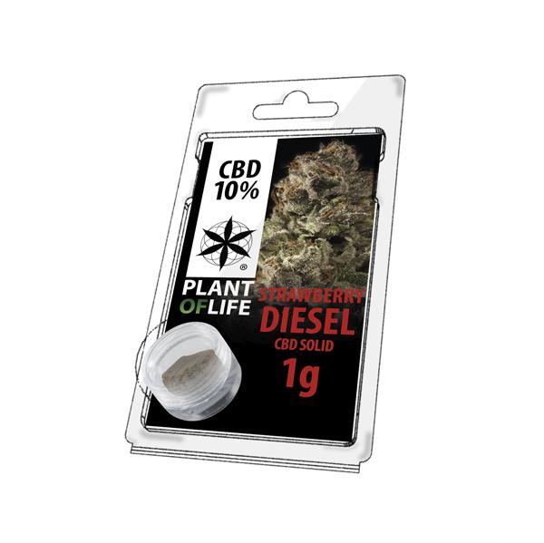 Buy Strawberry Diesel Solid 10% CBD