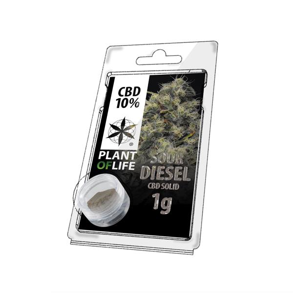 Buy Sour Diesel Solid 10% CBD 1 g