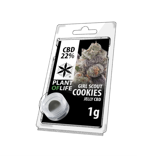 Buy Girl Scout Cookies Jelly 22% CBD 1 g