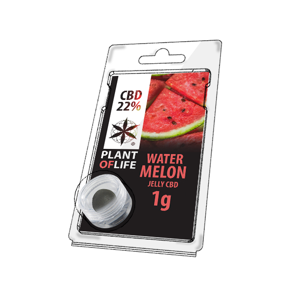 Buy Watermelon Jelly 22% CBD 1 g
