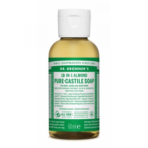 Buy Almond Pure Castile Liquid Soap 60 ml