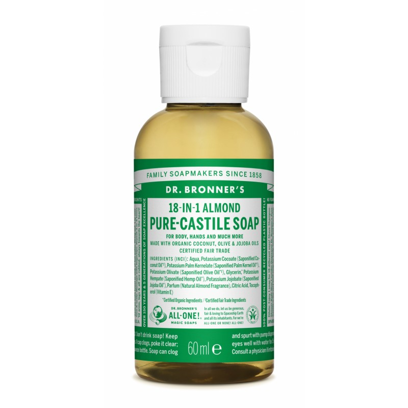 Buy Almond Pure Castile Liquid Soap 60 ml