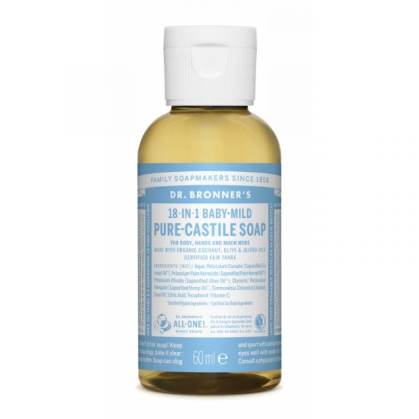Buy Pure Castile Liquid Soap 60 ml