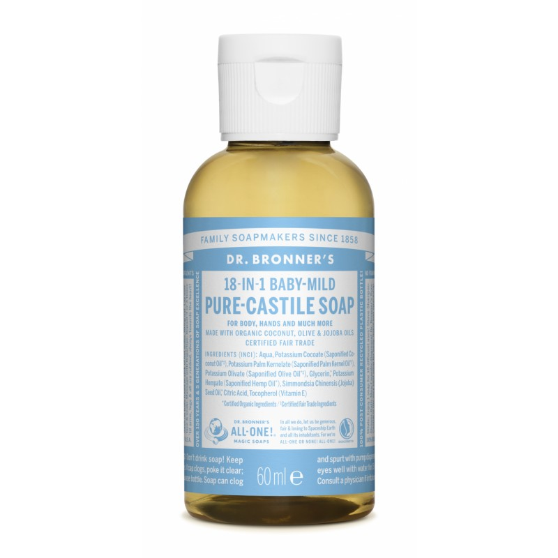 Buy Pure Castile Liquid Soap 60 ml