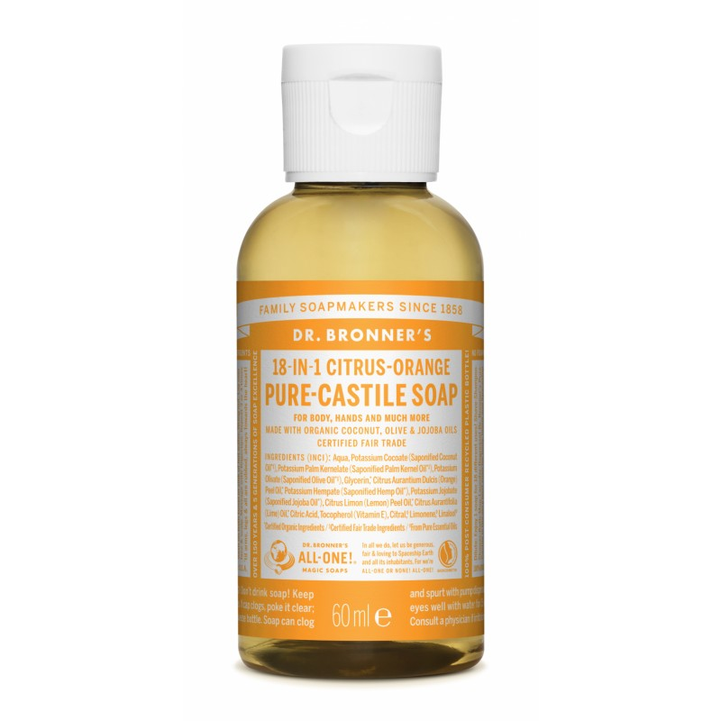 Buy Citrus Pure Castile Liquid Soap 60 ml