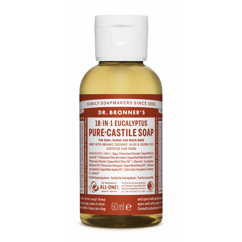 Buy Eucalyptus Pure Castile Liquid Soap 60 ml