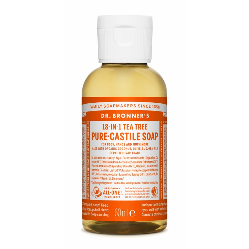 Buy Tea Tree Pure Castile Liquid Soap 60 ml