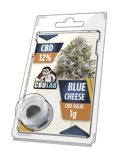 uy Blue Cheese Solid 12% CBD 1 g