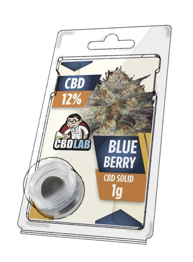 Buy Blueberry Solid 12% CBD 1 g
