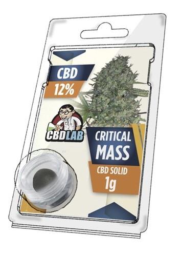 Buy Critical Mass Solid 12% CBD 1 g