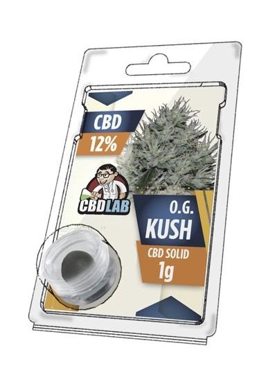 Buy O.G. Kush Solid 12% CBD 1 g