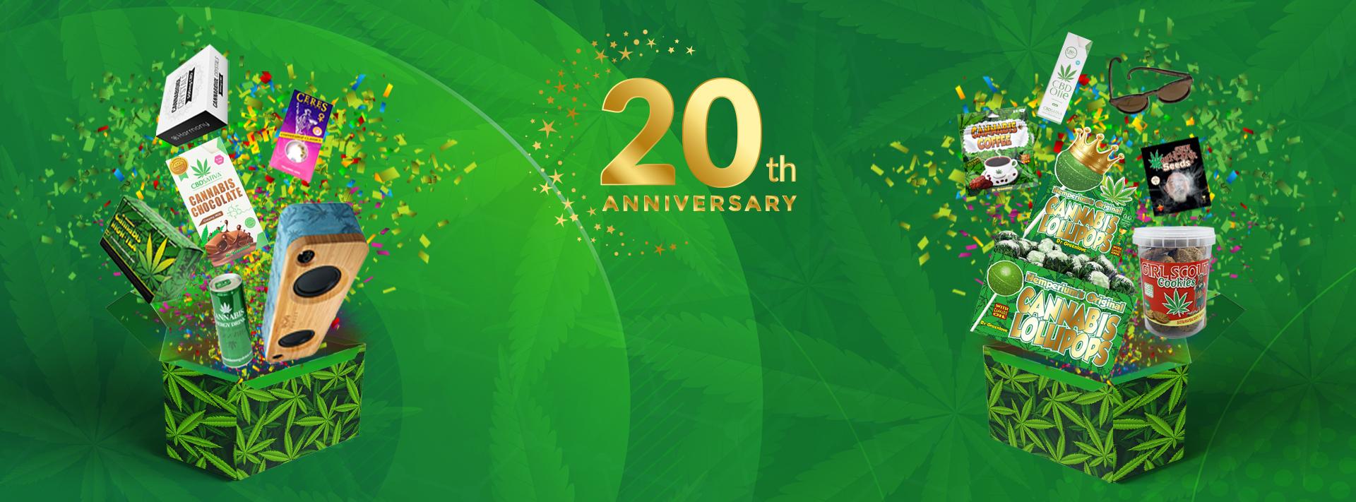 Hempshopper Amsterdam - 20 Years!