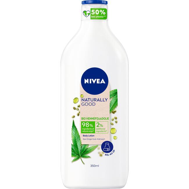 Nivea Naturally Good Body Lotion - Hemp Body Care